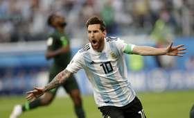 Messi miał przejąć rolę selekcjonera podczas mecz z Nigerią