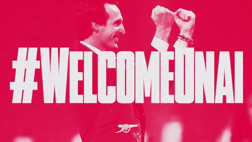 Unai Emery trenerem Arsenalu