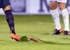 Fatalna murawa na meczu Valladolid - Barcelona
