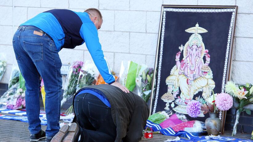 Kibice Leicester oddają hołd tragicznie zmarłemu właścicielowi