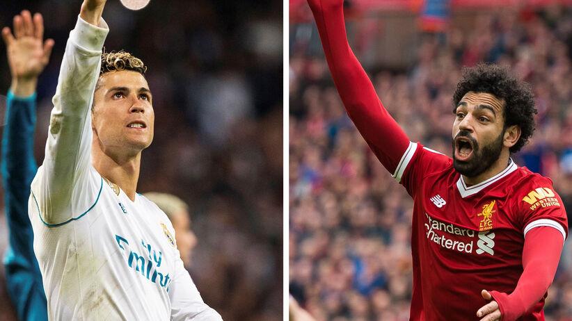 Cristiano Ronaldo i Mohamed Salah