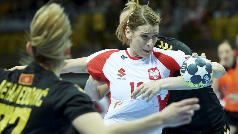 Aleksandra Zych w meczu Polska - Czarnogóra