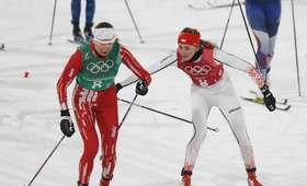 Justyna Kowalczyk i Ewelina Marcisz