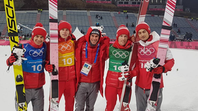 Skoczkowie narciarscy Pjongczang 2018
