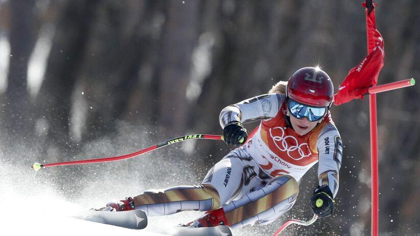 Ester Ledecka na igrzyskach w Pjongczangu