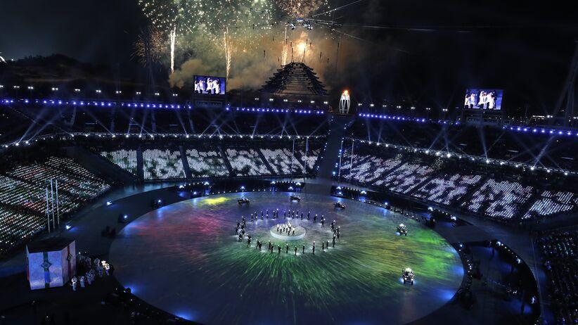 ceremonia zakończenia igrzysk w Pjongczangu
