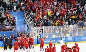 Olimpijczycy z Rosji mistrzami olimpijskimi w hokeju na lodzie