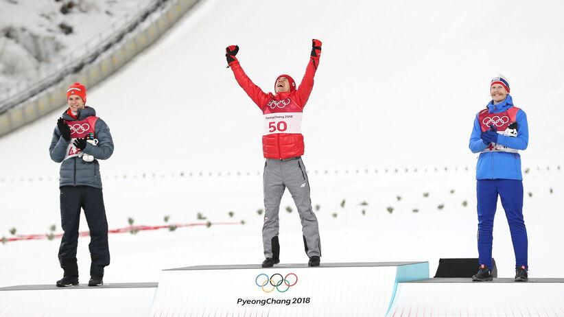 Kamil Stoch na igrzyskach w Pjongczangu