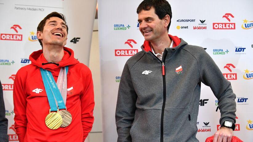 Stefan Horngacher i Kamil Stoch