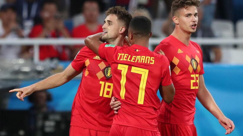 Mecz Anglia - Belgia na MŚ 2018