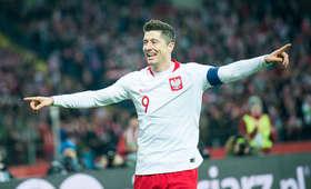 Robert Lewandowski jest największą gwiazdą reprezentacji Polski