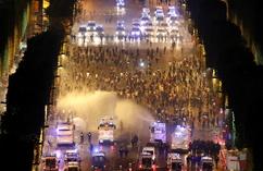 Zamieszki w Paryżu podczas świętowania mistrzostwa świata (5)