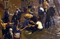 Zamieszki w Paryżu podczas świętowania mistrzostwa świata (6)