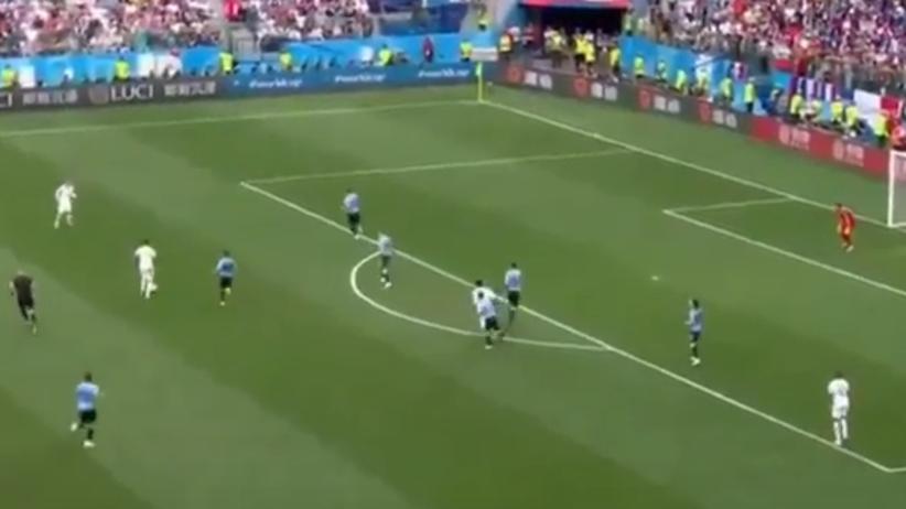 Koszmarny błąd bramkarza w meczu Francja - Urugwaj [WIDEO]
