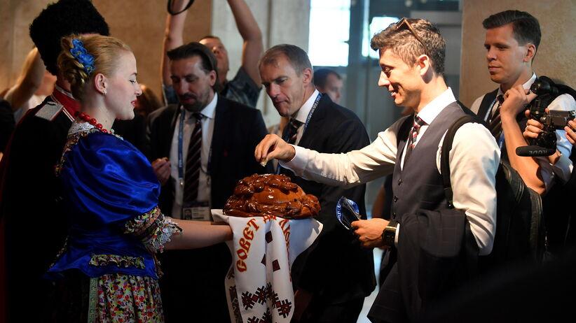 Powitanie reprezentacji Polski w Soczi