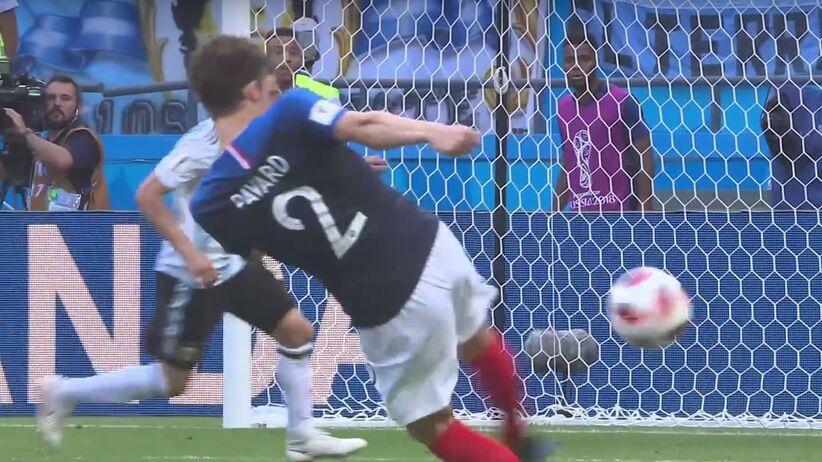 Benjamin Pavard zdobył pięknego gola w meczu z Argentyną