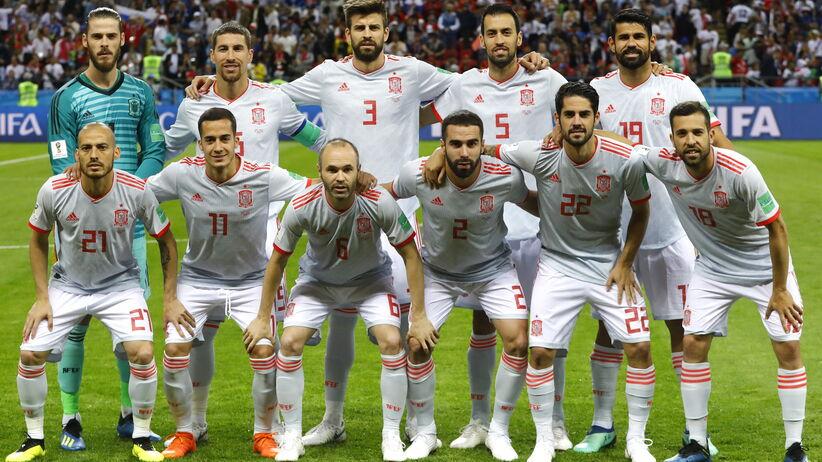 reprezentacja Hiszpanii na mundialu w Rosji