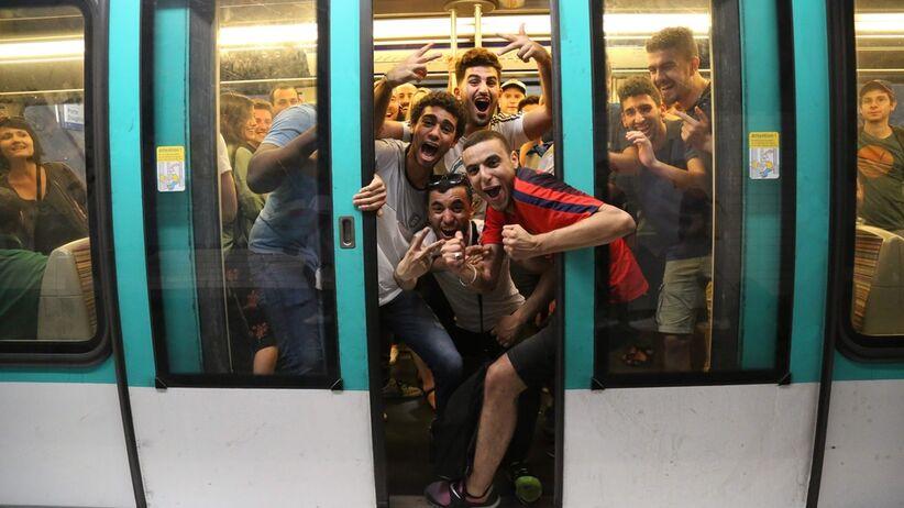 Paryskie metro świętuje tytuł mistrzów świata