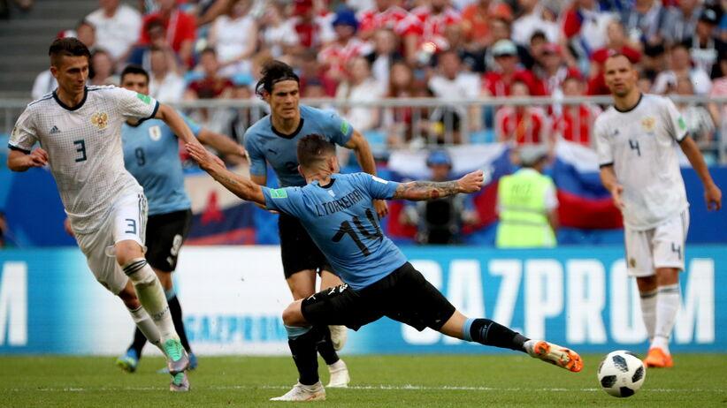 wynik meczu rosja urugwaj