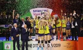 Joanna Wołosz mistrzynią Włoch. Drużyna Polki obroniła tytuł