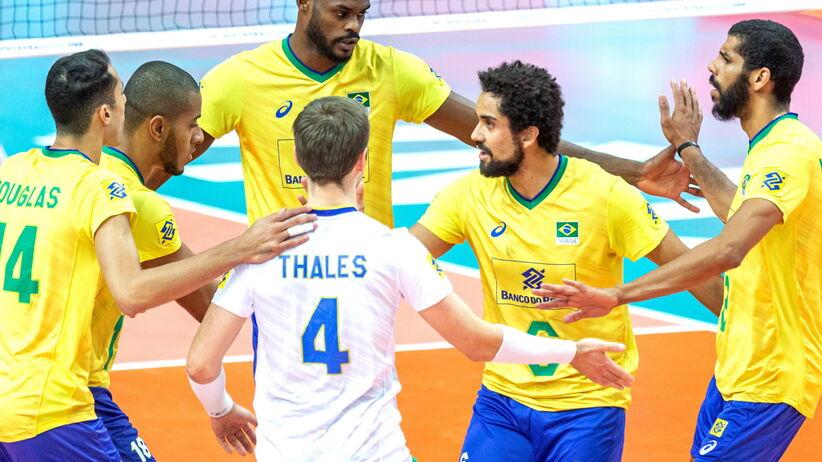 Brazylia, siatkarze