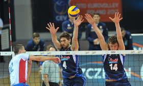 ME siatkarzy: Pewne zwycięstwo Włochów, Słowacja bez szans