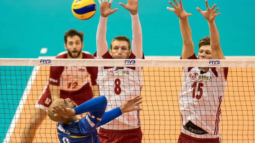 MŚ siatkarzy: Polska - Serbia: Trudna sytuacja Polaków przed ostatnim meczem