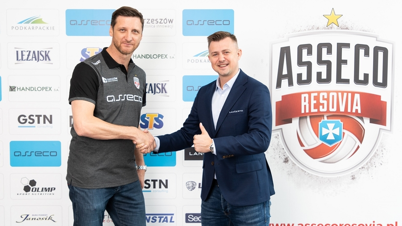 Piotr Gruszka trenerem Asseco Resovii Rzeszów