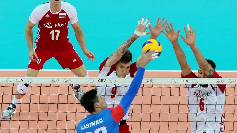 Serbia za mocna, Polacy rozpoczęli mistrzostwa od porażki