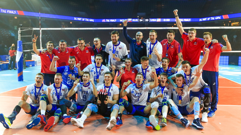 Rosja wygrała Lige Narodów