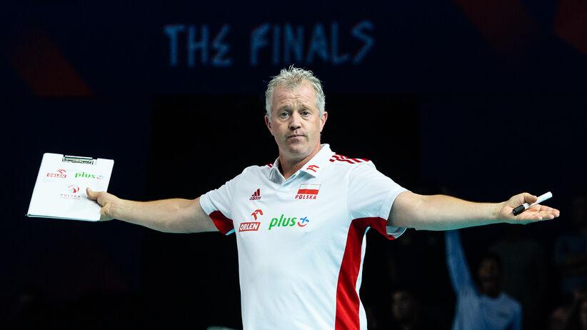 Vital Heynen opuścił reprezentację Polski walczącą o medal LN