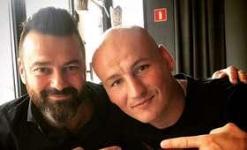 Artur Szpilka i Martin Lewandowski