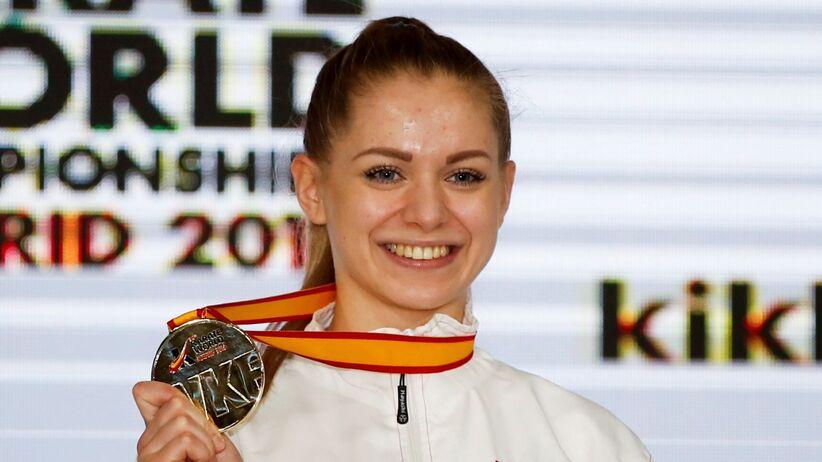 Dorota Banaszczyk zdobyła złoty medal MŚ w karate