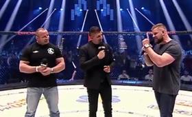 Mariusz Pudzianowski Mateusz Borek i Karol Bedorf na KSW 43