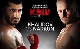 KSW 42 Chalidow vs Narkun