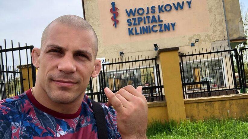 Damian Janikowski złamał rękę na gali KSW 43