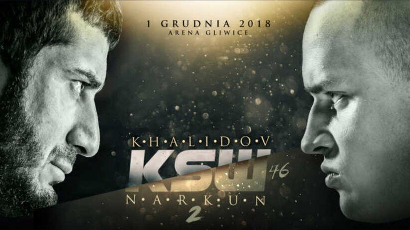 KSW 46: walki, karta walk - kto walczy na gali KSW 46 w Gliwicach 1.12?