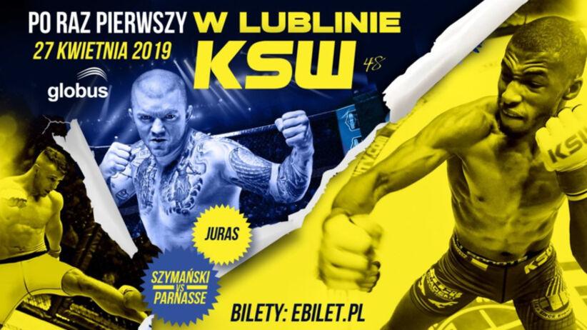 KSW 48: WALKI, karta walk, zawodnicy - kto walczy na gali KSW 48 w Lublinie 27.04?