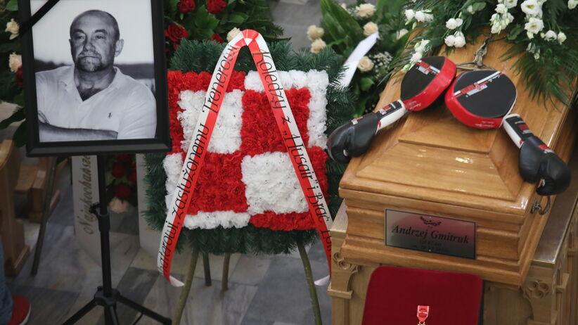 Pogrzeb Andrzeja Gmitruka