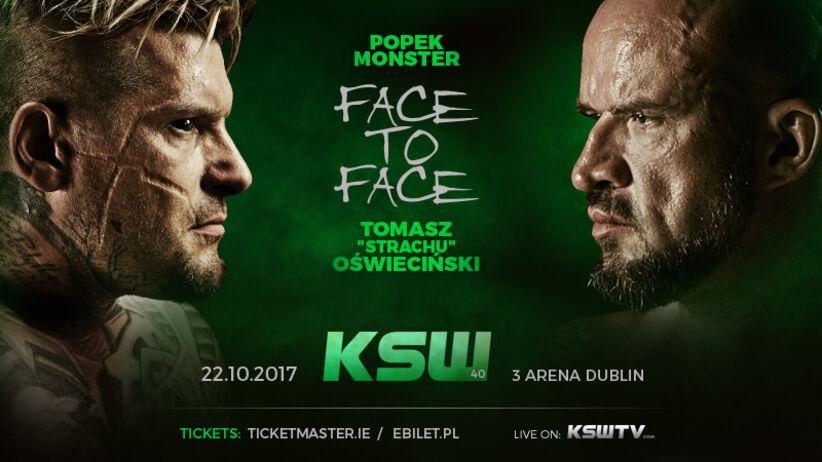 """KSW 40: Popek vs """"Strachu"""" Oświeciński. Kiedy walka?"""