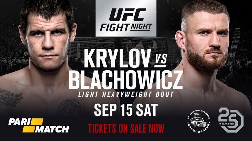 UFC w Moskwie