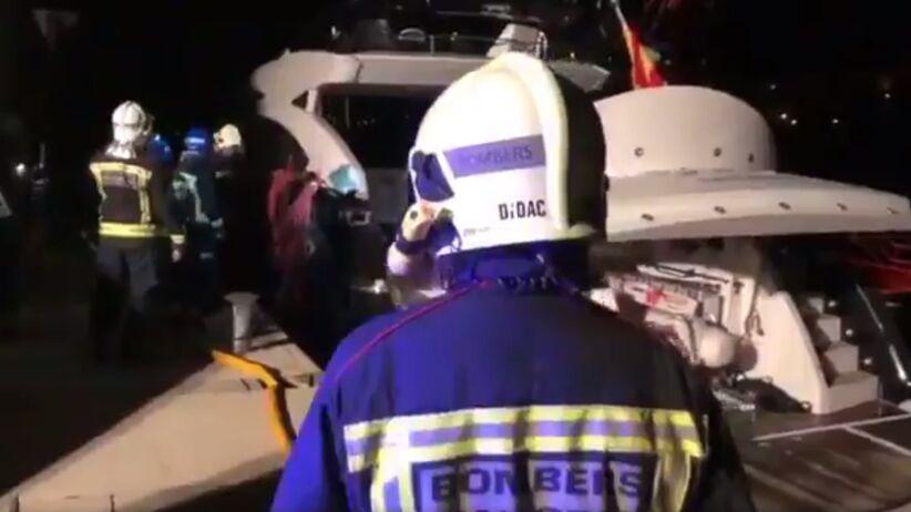 Wladimir Kliczko uratowany z płonącego jachtu