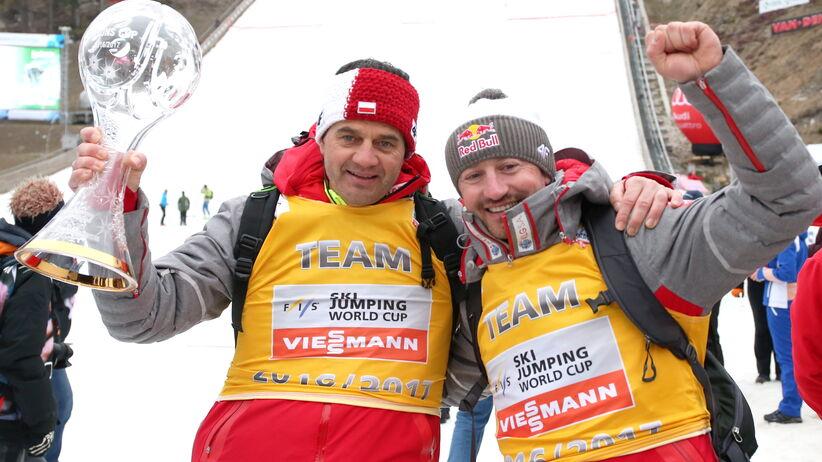 Adam Małysz i Stefan Horngacher