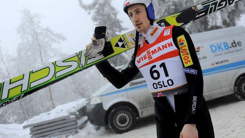 Adam Małysz na mistrzostwach świata w Oslo 2011