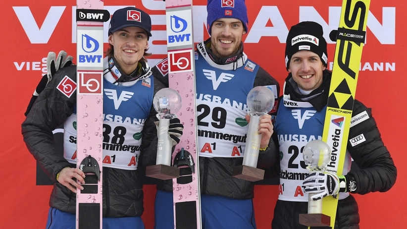 Andreas Stjernen, Daniel Andre Tande, Simon Ammann