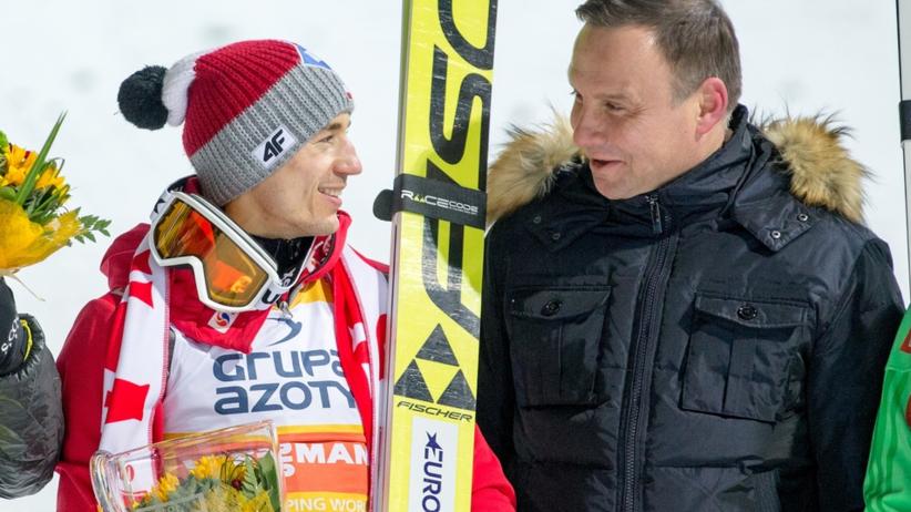 Andrzej Duda pogratulował Stochowi srebrnego medalu! [FOTO]