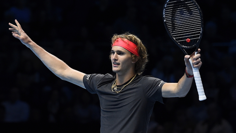 Alexander Zverev w finale ATP Finals