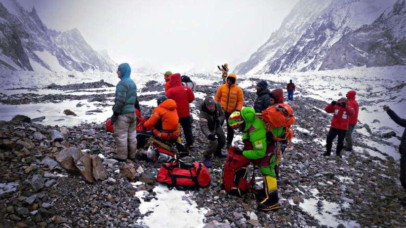 Wyprawa na K2 - Wielicki podał zatrważające informacje na temat Denisa Urubko