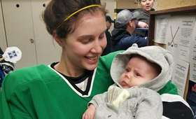 Serah Small z córką Ellie