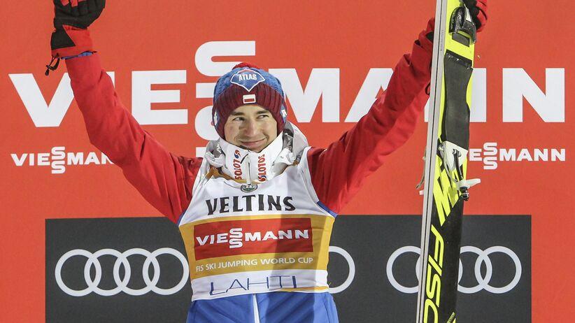 Kamil Stoch zwycięża w Lahti